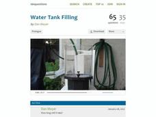 Water Tank Filling Activities & Project