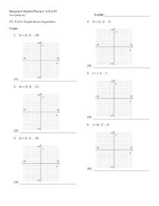 Linear Inequalities Lesson Plans Worksheets Lesson Planet