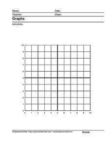 Graph Paper Lesson Plan