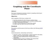 Graphing and the Coordinate Plane Lesson Plan