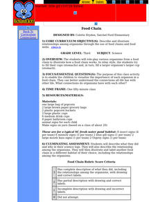 Food Chain Lesson Plan