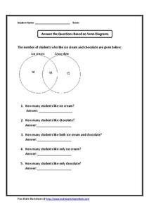 answer the questions based on the venn diagram: deductive reasoning  worksheet