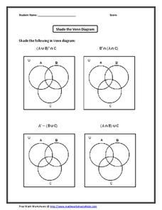 3 Circle Venn Diagram Lesson Plans & Worksheets Reviewed