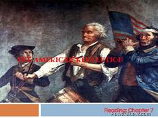Battles of the American Revolution Presentation