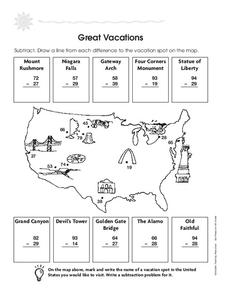 Great Vacations Worksheet