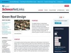 Green Roof Design Lesson Plan
