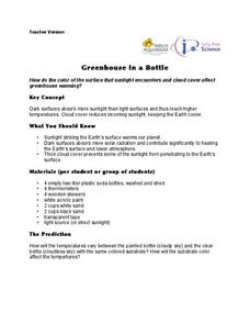 Greenhouse in a Bottle Lesson Plan