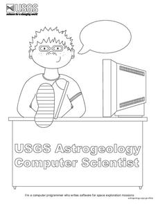 USGS Astrogeology Computer Scientist Lesson Plan