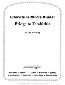 Literature Circle Guide: Bridge to Terabithia Lesson Plan
