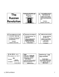 The Russian Revolution Worksheet for 6th   9th Grade ...