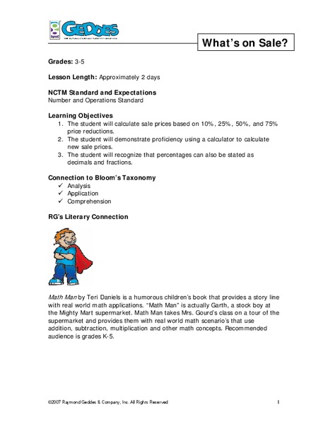 Lesson Plan For Maths Class 5