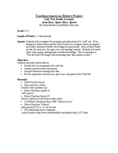 Apollo 13 Movie Questions Lesson Plans Worksheets