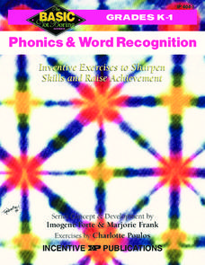 Phonics & Word Recognition Worksheet
