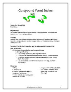 Compound Word Snakes Lesson Plan