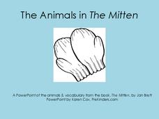 The Animals in the Mitten Printables & Template