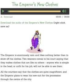 The Emperor's New Clothes Audio