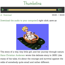 Thumbelina Audio