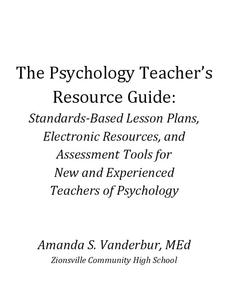 The Psychology Teacher's Resource Guide Unit