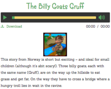 The Billy Goats Gruff Audio
