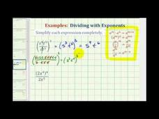 Simplify Exponential Expressions - Positive Exponents Only (Example 2) Video