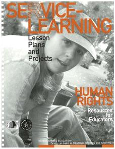 Human Rights and Service Learning (Part 1) Unit