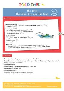 The Twits - The Glass Eye and the Frog Lesson Plan