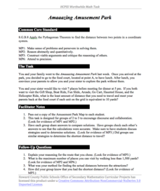 Amaaazing Amusement Park Activities & Project