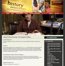 Using Primary Sources: The Rogue's Gallery Lesson Plan