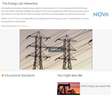 The Energy Lab Interactive Interactive