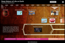 Deep History of Life on Earth Interactive