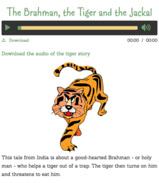 The Brahman, the Tiger and the Jackal Audio
