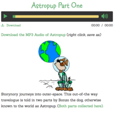 Astropup Part One Audio
