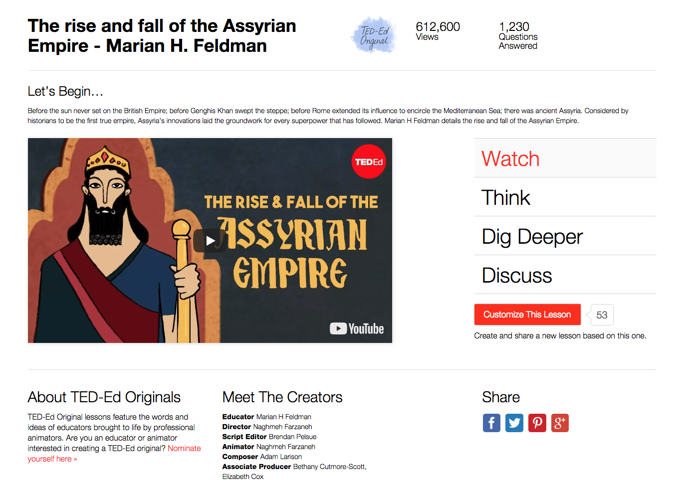 The Rise and Fall of the Assyrian Empire Video