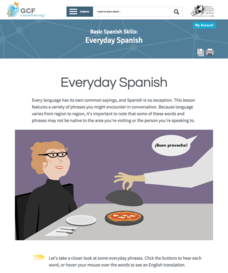 Everyday Spanish Interactive