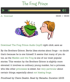 The Frog Prince Audio
