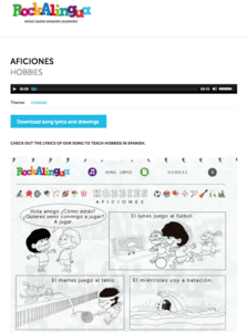 Aficiones (Hobbies) Audio