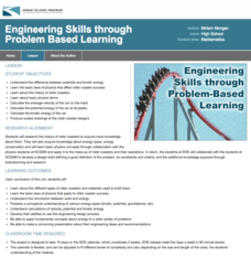 Engineering Skills Through Problem Based Learning Lesson Plan