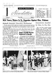 Special St. Augustine Issue Primary Source