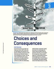 Choices and Consequences Unit