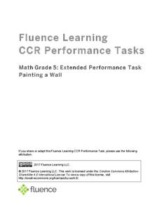 Extended Performance Task: Painting a Wall Mural Assessment