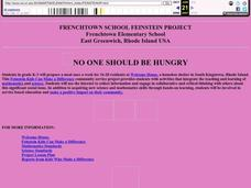 No One Should Be Hungry Lesson Plan