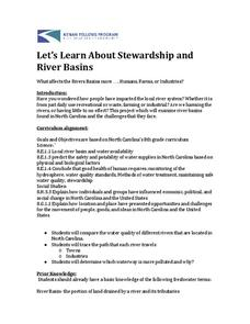 Let's Learn About Stewardship and River Basins Lesson Plan