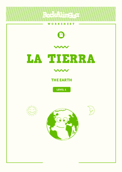 La Tierra (The Earth) Worksheet