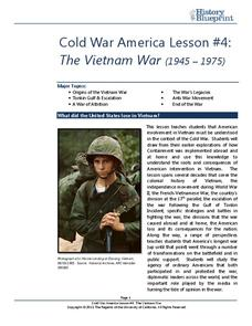 The Vietnam War (1945 – 1975) Lesson Plan