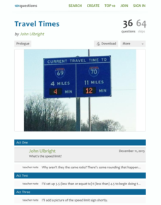 Travel Times Activities & Project