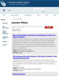 Ben Franklin Half Dollar Lesson Plan