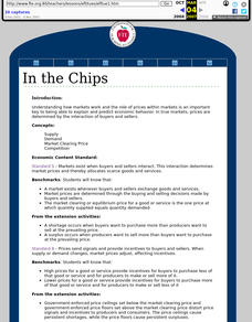 In the Chips Lesson Plan