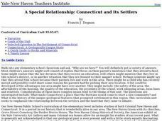 A Special Relationship: Connecticut and Its Settlers Lesson Plan