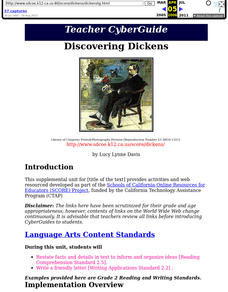 Discovering Dickens Lesson Plan