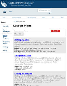 Coin-Shaped Books Lesson Plan